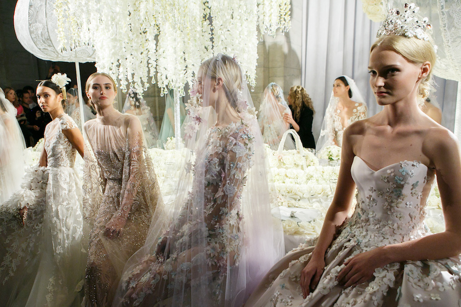 Reem Acra Fall 2019 Bridal 'Celebration Collection'