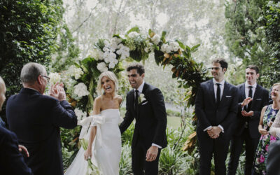 A Hamptons style Wedding at Bells at Killcare